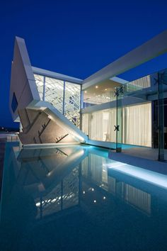 H3 Futuristic Luxury Residence in Athens, Greece by 314 Architecture Studio