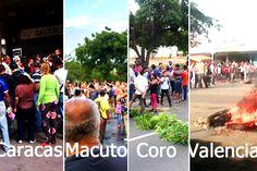 UNA BURLA AL PUEBLO! En al menos 7 sectores hay protestas por Mega Mercal que nunca llegó