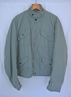 5454f20a5fcb Details about HELMUT LANG Mens Pale Blue Padded Jacket Size 50 Archive AW98  Collectors