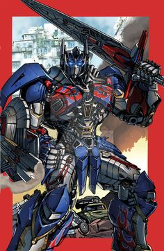 Optimus Prime AOE by Dan-the-artguy