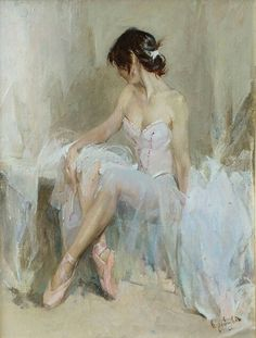 Nine P.  Oil on canvas
