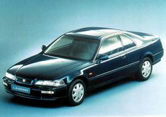 Euro Honda Legend Coupe - my favorite Legend, especially in coupe form, and I was fixated on Honda versions of Acuras. I also liked the way the back windows of the coupe rolled down. Honda Legend, Matrix 1, European Models, Honda Motors, My Black, Photo Galleries, Automobile, Gallery, Classic