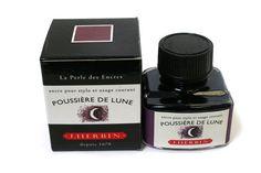 J. Herbin Fountain Pen Ink - 30 ml Bottle - Poussière de Lune (Moon Dust Purple)