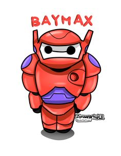 My second fanart of Baymax, wearing his suit. What I am excited for Big Hero 6 is Go Go Tomag. Walt Disney, Disney Fun, Disney Magic, Disney Movies, Disney Facts, Disney Characters, Baymax, Chibi, Cartoon Network Adventure Time