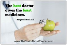 Natural cures for cancer could certainly eliminate destructive adverse reactions that many prescribed drugs and treatments bring about. Research your options to help you determine which treatment may work best for you. Natural Cancer Cures, Natural Cures, Health Facts, Health Quotes, Health Benefits Of Tumeric, Holistic Treatment, Beat Cancer, Take Care Of Your Body, Good Doctor