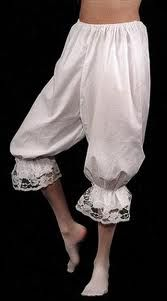 Faith in every Footstep: Bloomer or pantaloon pattern--turn scrubs into bloomers!