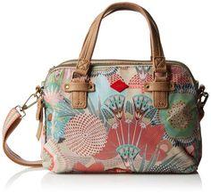 Oilily Oilily S Handbag OES6118-108 Damen Henkeltaschen 28x20x7 cm (B x H x T), Braun (Peach Rose 108)