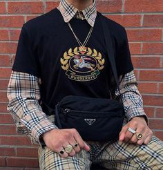 Dope Burberry outfit by Burberry Outfit, Burberry Shirt, Burberry Men, Mode Outfits, Fashion Outfits, Fashion Trends, Fashion Styles, Fashion Guide, Fashion Clothes
