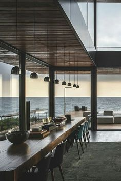 Interior design for kitchen by the sea