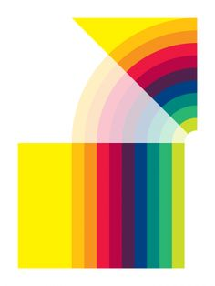26th June 2012 (Art Print, 2012) // Gary Andrew Clarke. Rainbow colors