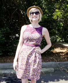 macaron dress pattern