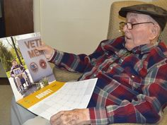 93-Year-Old WWII Vet Chosen Mr. August for Heroes of Hopkins Calendar