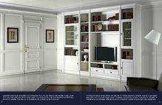 parete attrezzata classica : parete attrezzata. - Prestige