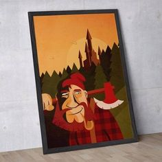 poster lumberjack