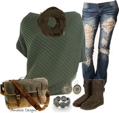 """""""Errand Time in the cold CO weather"""" by amabiledesigns on Polyvore"""