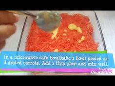 Gajar Ka Halwa in Microwave (माइक्रोवेव में गाजर का हलवा)