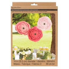 "Recollections™ Craft It™ Big Bloom 14"" Paper Flowers"