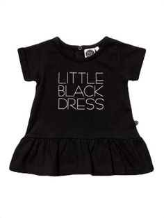 Mainio Clothing Little Black Dress Baby