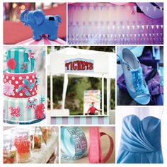 For a Carefree & Cool Debut, Step Right Up! Here's our Carnival-themed Moodboard Debut Themes, Get The Look, Mood Boards, Party Planning, Carnival, Photoshoot, Style Inspiration, Cool Stuff, Children