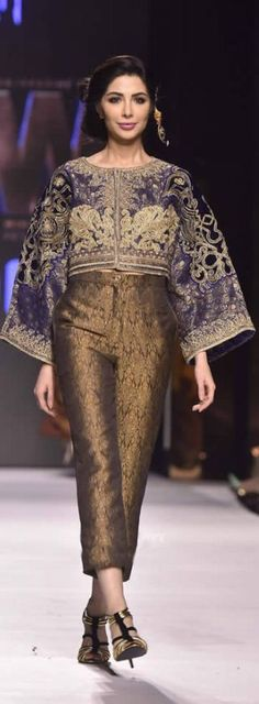 #British model & actress @SabeekaImam wearing @FnkAsia #FPW2015