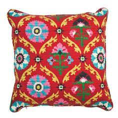 Mayan Pillow in Desert Flower