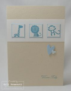 Stampin Up - new baby
