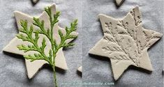 Dekorationen in selbsthärtender Tonpaste anfertigen - Special days Handmade Christmas Crafts, Christmas Diy, Polymer Clay Crafts, Diy Clay, Craft Gifts, Diy Gifts, Diy For Kids, Crafts For Kids, Navidad Diy