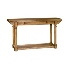 Hammary 114-925 Americana Home Flip top Console Table available at Hickory Park Furniture Galleries