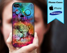 Hey, I found this really awesome Etsy listing at http://www.etsy.com/listing/165637551/adventure-time-galaxy-quote-custom-case