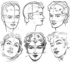 Gesichter zeichnen lernen für Anfänger-dekoking-com-3