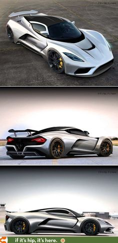 Hennessey aims for a top speed of 290 mph with the new Hennessey Venom F5!