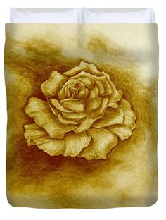 Golden Rose Acrylic Print by Faye Anastasopoulou. All acrylic prints are professionally printed, packaged, and shipped within 3 - 4 business days and delivered ready-to-hang on your wall. Rose Duvet Cover, Duvet Covers, Thing 1, Pattern Pictures, Acrylic Sheets, Artist At Work, Designs To Draw, Clear Acrylic, High Gloss