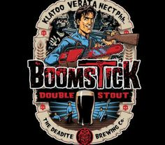 Boomstick Double Stout Deadite Brewing Co.