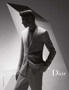Baptiste Giabiconi for Dior Homme SS12