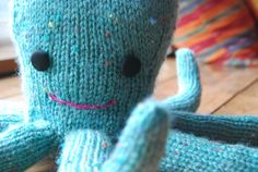 This is a cute octopus pattern, very cartoony which makes it nice for a kids stuffed animal. although the realistic octopuses are pretty amazing too!