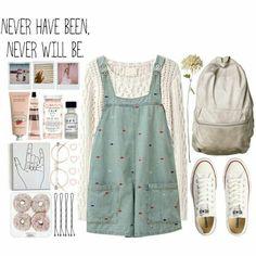 Looks like a 90's kid outfit... so... you know I like!! ❤️||