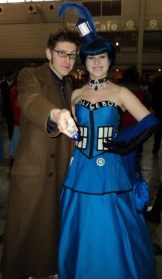 Amazing Doctor Who and Tardis cosplay at Supanova Sydney 2013