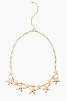 Deep Sea Starfish Necklace