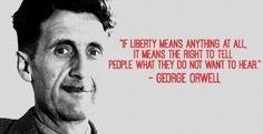 Le Cose Sono Come Sono: Orwell. Frasi