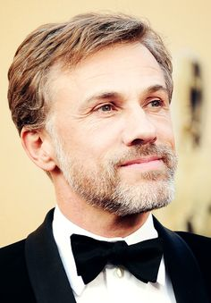 Christoph Waltz. I could just watch him read the phone book and is be happy.