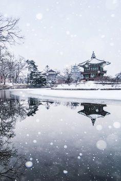 South Korea Gyeongbokgung Palace Hyangwonjeong