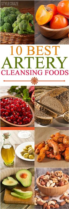 Read this post and find out about the ten best foods for cleansing arteries.