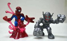 Marvel Super Hero Squad Complete Spider Man and Shang Chi 2008 Free SHIP | eBay