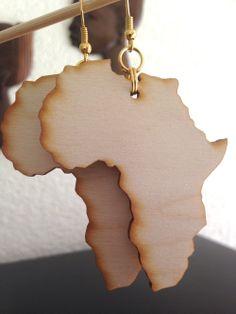 Africa Shape Charm Bracelet Acrylic Gold Via Houseofchi Click On The Image To