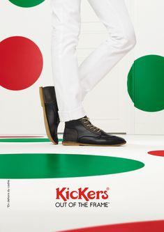 Pour la rentrée, Kickers sort du cadre avec l'agence La Chose. http://rp.lachose.fr/kickers2014