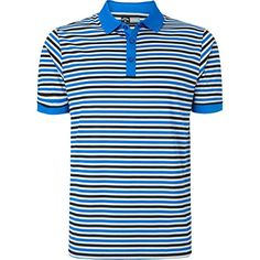 77048ed6d Callaway Golf Mens Core Chev Striped Polo Shirt M Magnetic Blue     Click on