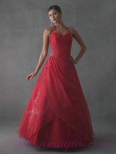 Best Hanlter Sweetheart Red 2011 Collection Prom Dresses