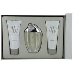 Av by Adrienne Vittadini for Women Gift Set, 3 Piece by Adrienne Vittadini. $30.79. Design House: Adrienne Vittadini. Recommended Use: daytime. Fragrance Notes: oakmoss, blooming fresh cut flowers as well as watery notes of the fresh cool sea and the pure ocean air.. AV by Adrienne Vittadini Fragrance Set. This set contains an Eau de Parfum fragrance 3.0 fl oz, a Body Lotion 3.3 fl oz and a Shower Gel 3.3 fl oz. Pamper yourself with this 3 piece fragrance set....