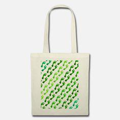 Footprint in der Wiese Stoffbeutel Snapback Cap, Reusable Tote Bags, Design, Women Accessories, Gym Bag, Cinch Bag, Bags, Snapback Hats