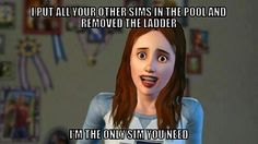 Would love to have a real Overly Attached Girlfriend. Laugh your self out with various memes that we collected around the internet. Overly Attached Girlfriend, Crazy Girlfriend, Girlfriend Meme, Funny Pictures With Words, Funny Images, Fail Pictures, Sims Memes, Sims Humor, Funny Sims
